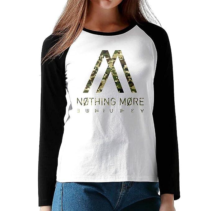 d6af1075 Amazon.com: Woman Nothing More Jenny Funny Plain Raglan T Shirt Long ...