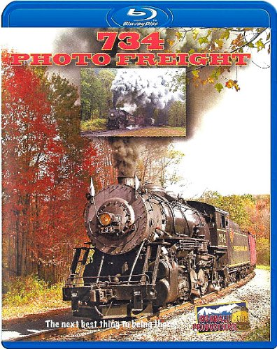 (Western Maryland Scenic Railroad, 734 Photo Freight [Blu-ray] [2010])