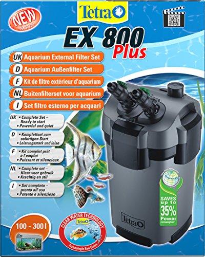 Tetra EX800 Plus Complete Aquarium External Filter for Optimum Water...