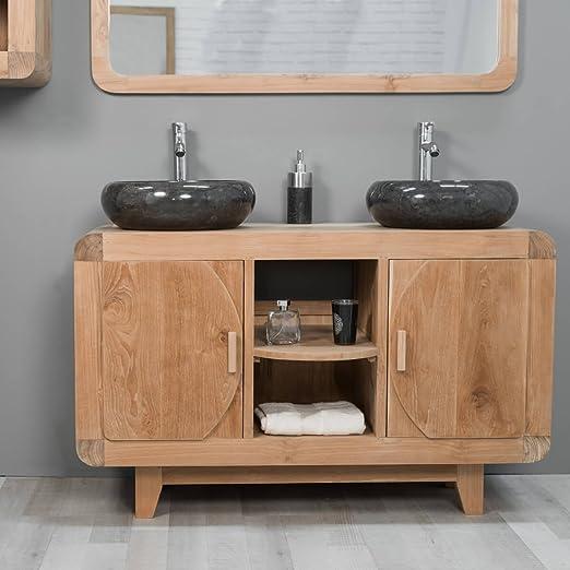 wanda collection Mueble para Cuarto de baño de Teca Retro ...