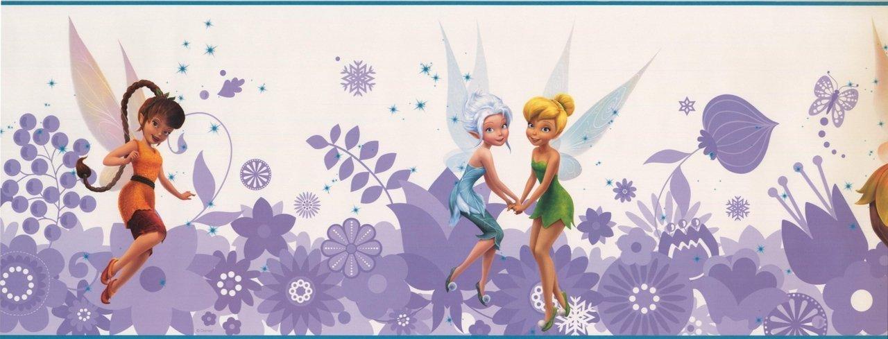 Disney Fairies Tinker Bell Girls DS7768BD Wallpaper Border