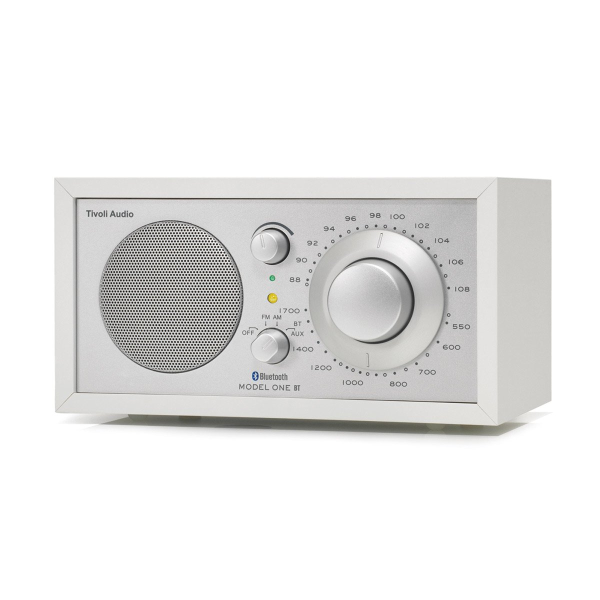 Tivoli Audio Model One BT Radio am/fm avec fonction Bluetooth Blanc/argenté