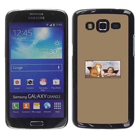COVERO Samsung Galaxy Grand 2 SM-G7102 SM-G7105 / cat angel ...