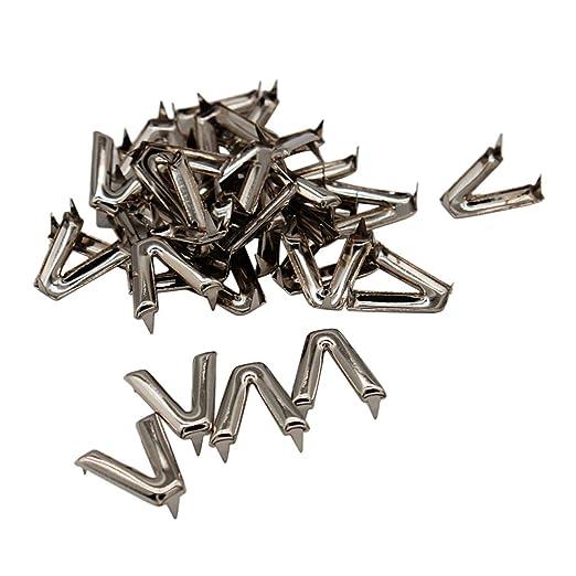 Taschen Pyramiden B/ügelnieten Nieten f/ür Kleidung H/üte Dekoration Baoblaze 52 Pcs Buchstaben Metall-Nieten Jeans Schuhe