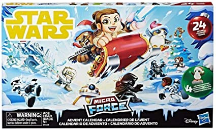 Calendrier De Lavent Lego Star Wars 2021 Amazon.com: Star Wars Micro Force Advent Calendar: Toys & Games