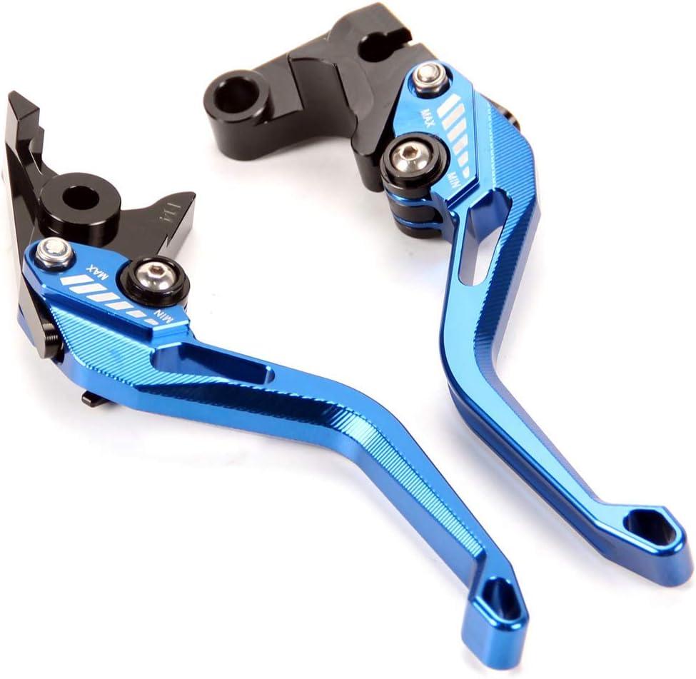 Auzkong Brems Kupplungshebel Für Yamaha Yzf R6 2017 2019 Yzf R1 R1m R1s 2015 2019 Kupplung Bremshebel Blau Auto