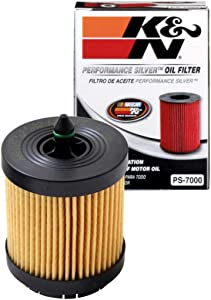 K&N Premium Oil Filter: Designed to Protect your Engine: Fits Select BUICK/CHEVROLET/SAAB/PONTIAC Vehicle Models (See Product Description for Full List of Compatible Vehicles), PS-7000
