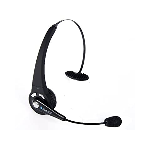 d562d374c0a YAMAY® Over the Head Bluetooth Stereo Headset Wireless Handsfree Headphones  Nosie Canceling with Flexible Boom