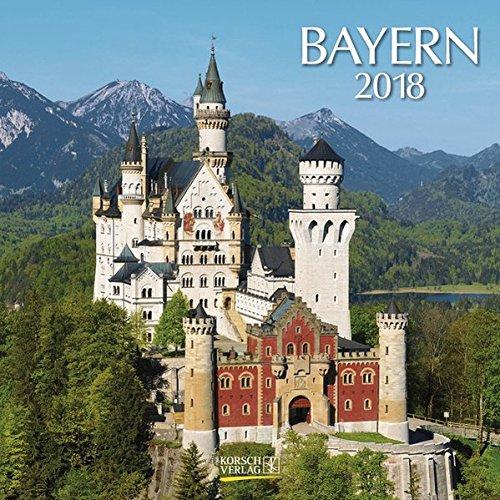 Bayern 2018: Broschürenkalender mit Ferienterminen