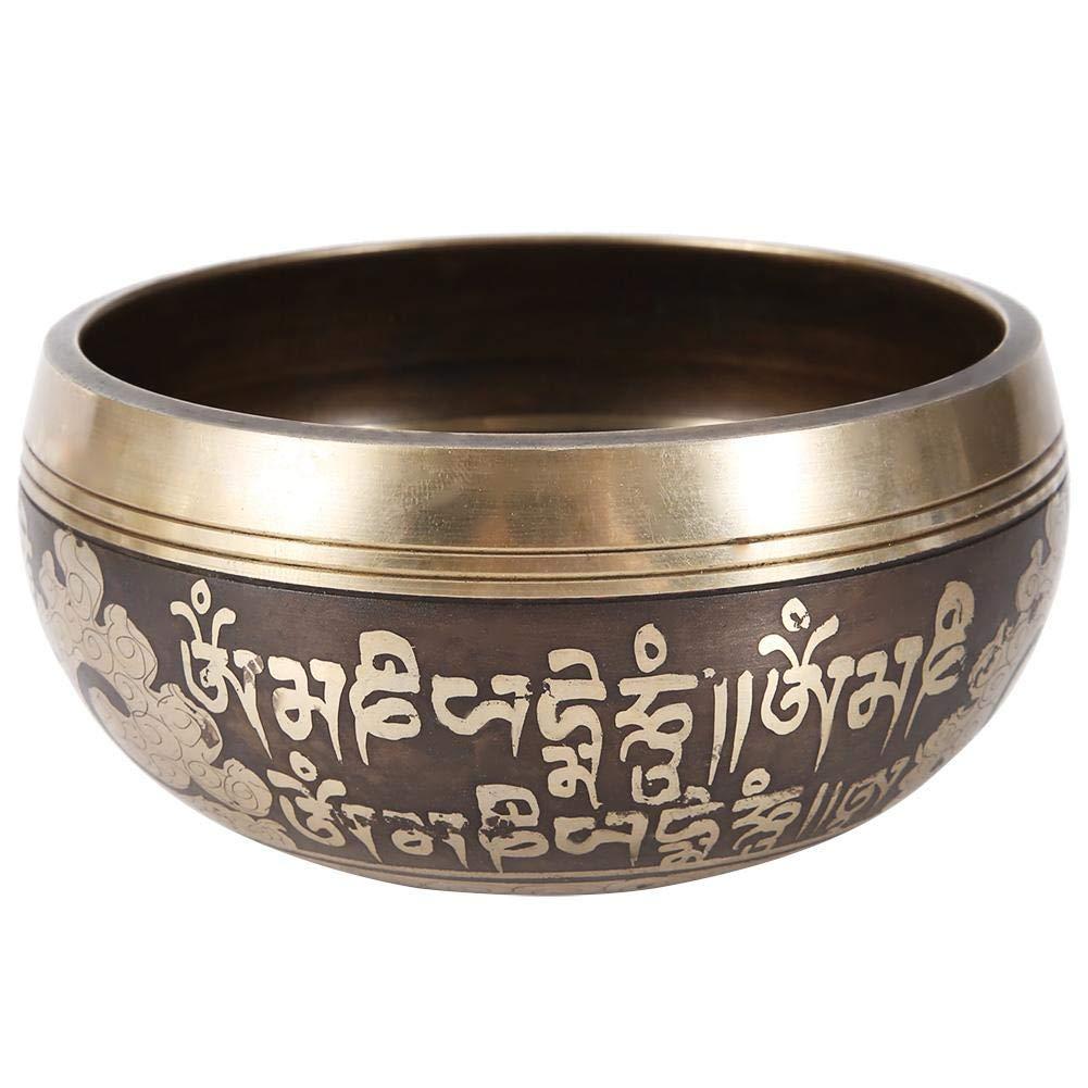 Bouddhisme Bol Bouddhisme martelé méditation Bol Chantant tibétain martelé Yoga cuivre Chakra Yoga méditation prière Yoga à Travers des Vibrations Bouddhisme tibétain Bol Chantant