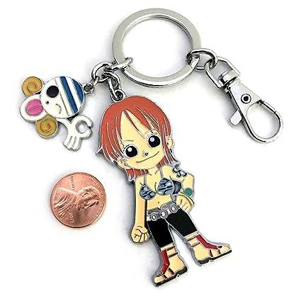 One Piece anime Cute Nami Mokey D. Luffy pirata Calavera ...