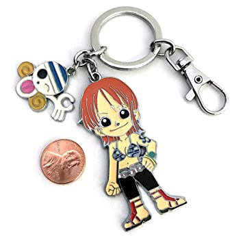 One Piece anime Cute Nami Mokey D. Luffy pirata Calavera ...