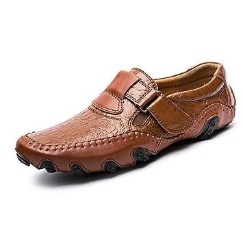 Zapatos de Hombre Mocasines de Cuero/PU Artificiales Primavera/Otoño / Invierno Comodidad/