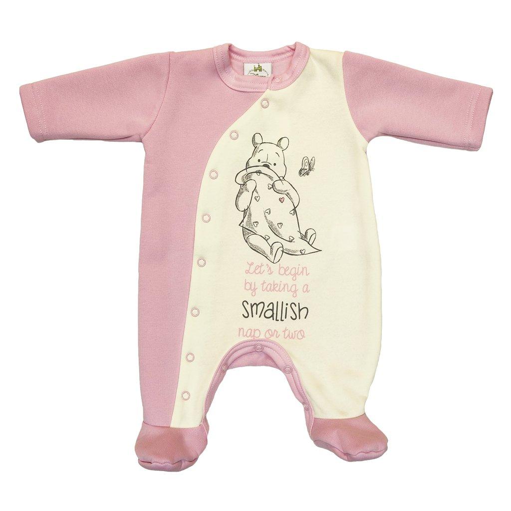 Kleines Kleid Winnie Pooh super s/ü/ßer und gef/ütterter Strampler f/ür M/ädchen