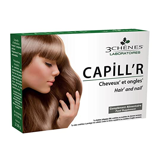 Amazon.com: 3 Chnes CapillR Hair and Nail 30 Tablets by Les 3 Chnes: Health & Personal Care
