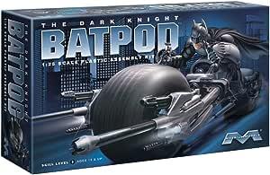 Batman The Dark Knight Bat-Pod w Catwoman 1:18 Moebius 938
