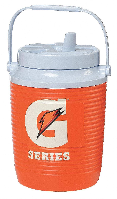 Beverage Cooler, 1 gal, Orange