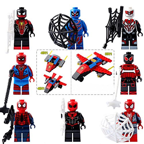 Star Lord Costume Ebay (TONGROU 8pcs-set-Collectible-Minifigures-Assemble-Figures-Movie-Building-Toys)