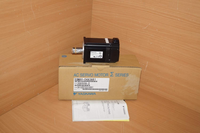 Yaskawa AC SERVO MOTOR SGMAV-04A3A61