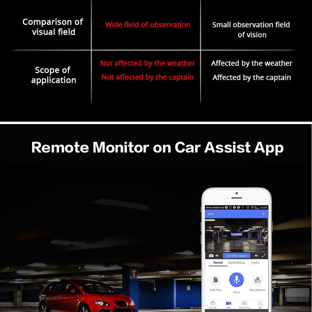 XZANTE Dash Cam De Voiture Group/é Universel IPS Pression 4G /écran Plein 10 Pouces R/étroviseur De Recul avec GPS Navi Bluetooth WiFi 5.1Android Double Lentille Fhd 1080