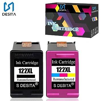 Amazon.com: Bora cartucho de tinta para HP 122 x l ch561hl ...