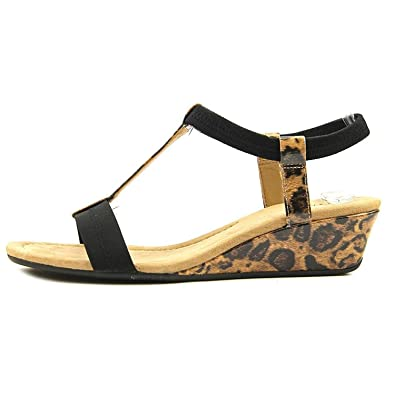 b9f377d39868 Image Unavailable. Image not available for. Color  Alfani Voyage Wedge  Sandals ...