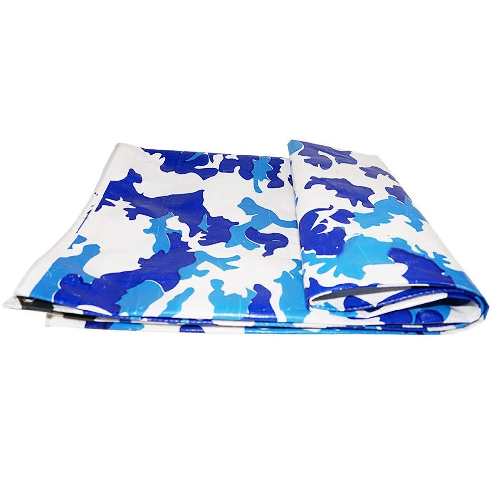 JNYZQ LKW-Plane Tuch Plastiküberdachung Sunshade Elektrische dreirädrige Überdachung Camouflage-Plane Wasserdichte Sonnenschutzplane (größe : 4x4M)