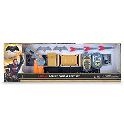 Batman Deluxe Combat Belt Set: Toys & Games