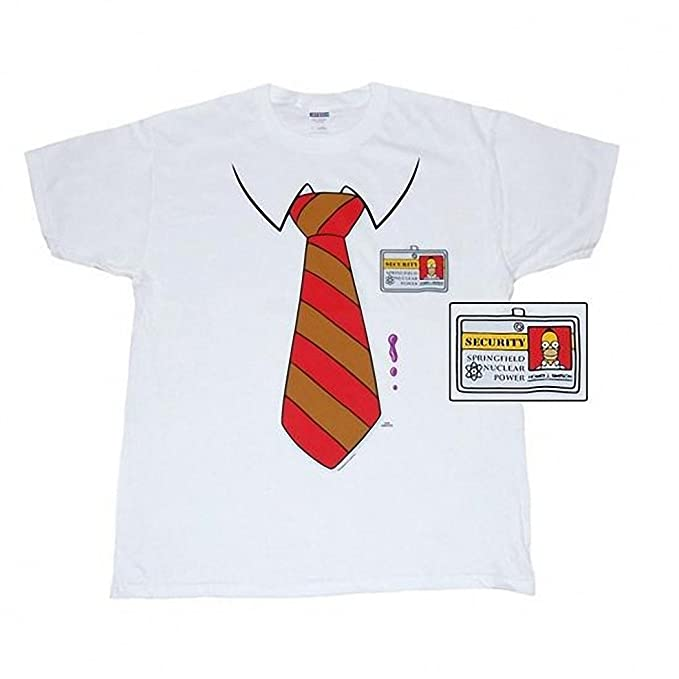 4f36653f Amazon.com: Simpsons Homer Costume T-Shirt: Clothing