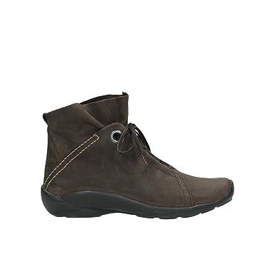 Wolky comodidad Lace Up Zapatos 01657?Diana, color Marrón, talla 36 EU