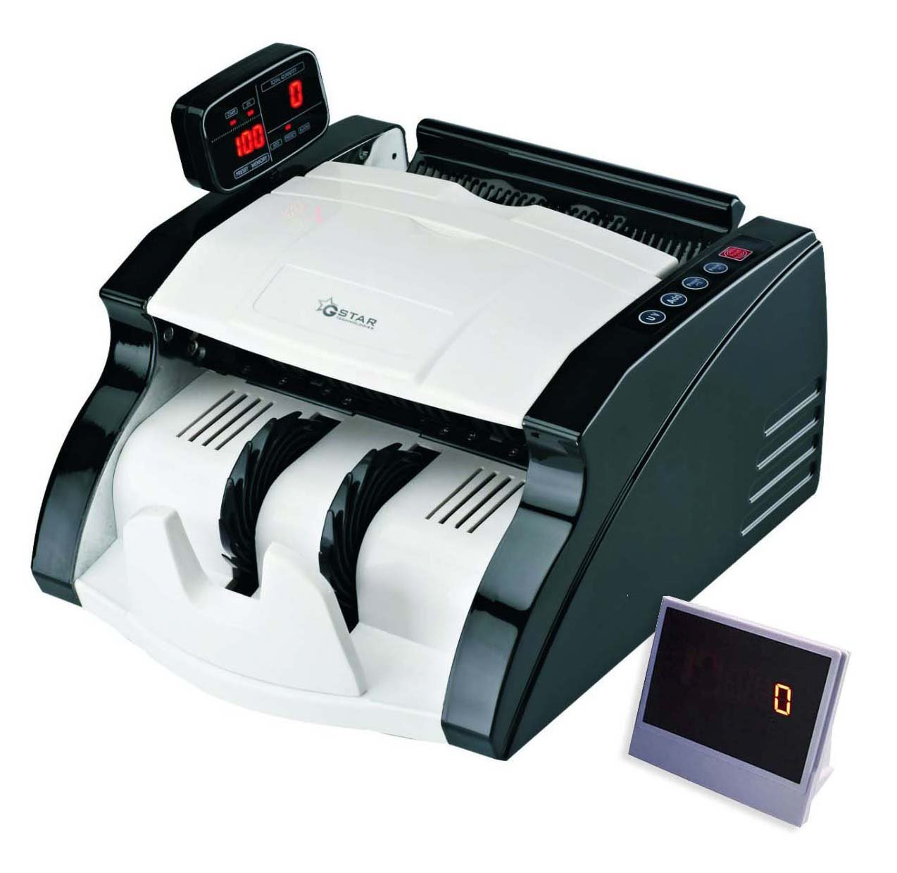 G-Star Technology Money Counter With UV/MG/IR Counterfeit Bill Detection (Standard)