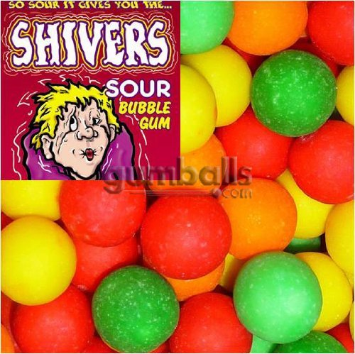 Shivers Gumballs Sour (Shivers Sour Gumballs)