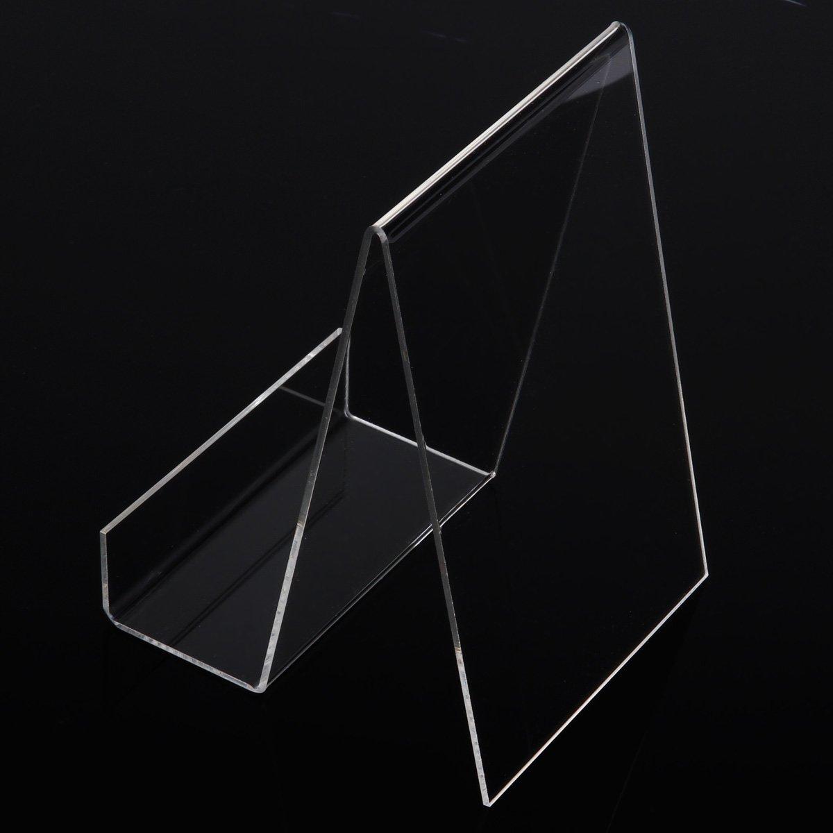 5/X acrilico ware stuetze ware Traeger Display Espositore da tavolo acrilico Espositore da appoggio grande M Reggilibri Leggio per cellulare