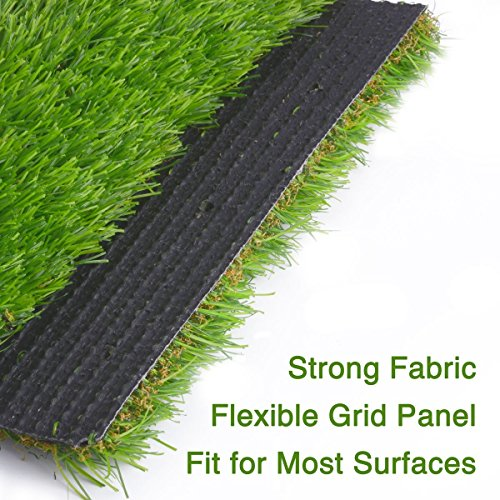 Synthetic Turf Artificial Lawn Grass Indoor Outdoor Premium Realistic Landscape (6.5 ft X 13 ft = 84.5 sqf) by CBEC (Image #1)