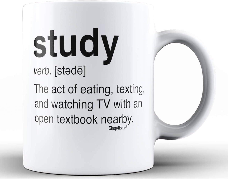 Shop4Ever Study Definition Ceramic Coffee Mug Tea Cup