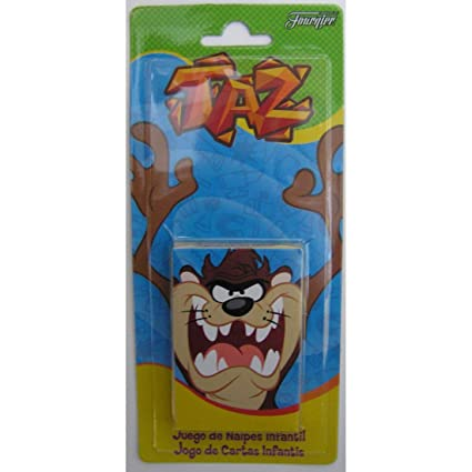Amazon.com: Taz Kids Game Playing Cards by Fournier - Juego ...