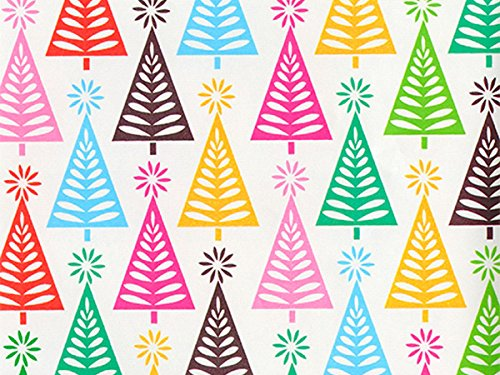 Pack of 1, Pine Tree Acres 26'' x 417' Half Ream Roll Gift Wrap for Holiday, Party, Kids' Birthday, Wedding & Special Occasion Packaging by Generic