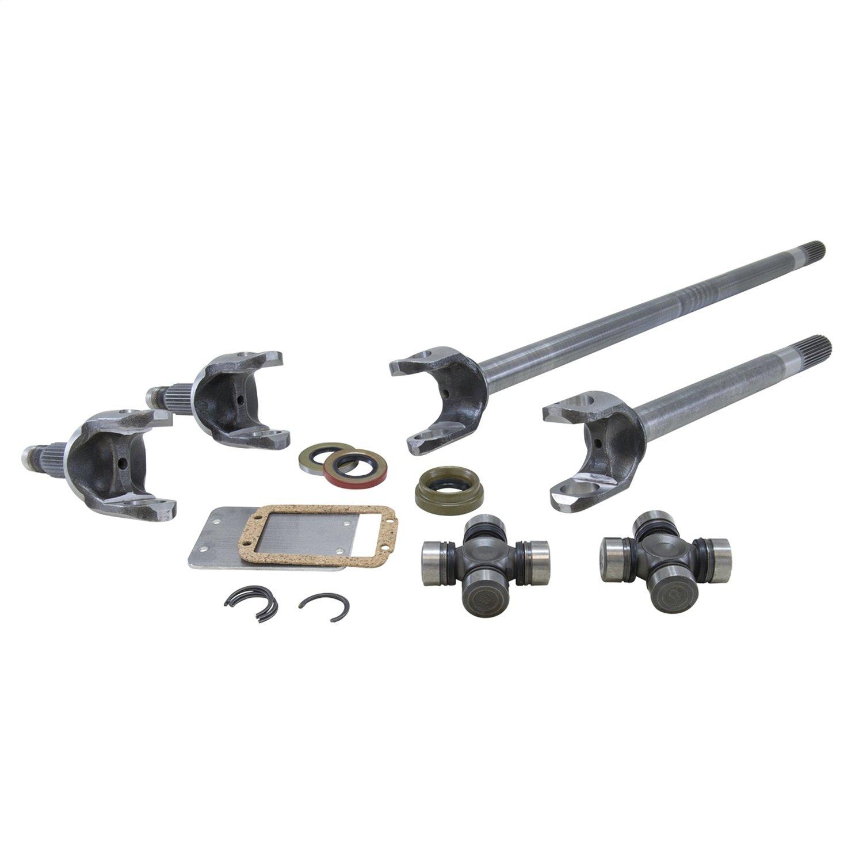 Yukon Gear /& Axle Rear Right Replacement Axle for Jeep TJ Wrangler//XJ Dana 44 Differential 1541H Alloy YA D75786-1X