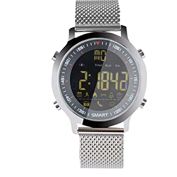 OASICS Fitness Pulsera Inteligente, Bluetooth Reloj ...