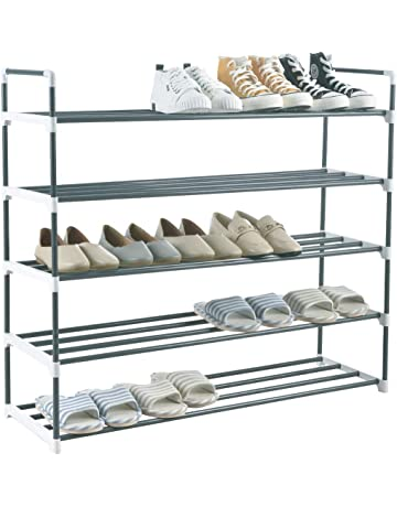 Clothing & Wardrobe Storage 8 Pcs Adjustable Shoe Organizer Modern Double Shoe Rack Storage Space Saver Shoes Organizers Stand Shelf For Living Room Dependable Performance