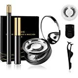 AHK Magnetic Eyelashes and Magnetic Eyeliner Kit, 3 Pairs of Different Styles Reusable Magnetic Eyelashes