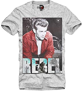2fd0c006789a E1Syndicate T-Shirt James Dean Rebel 50s Frank Sinatra Las Vegas Elvis  Marilyn GRAU S