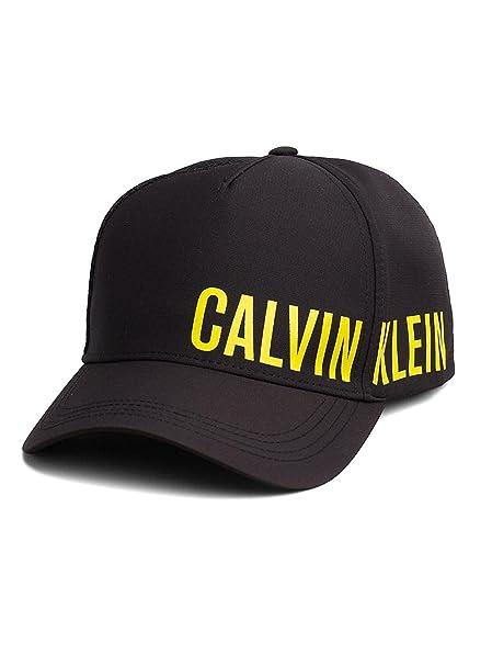 CALVIN KLEIN KU0KU00005 - CAP SOLID CALVIN KLEIN Hombre color: NGRO talla: U: Amazon.es: Ropa y accesorios