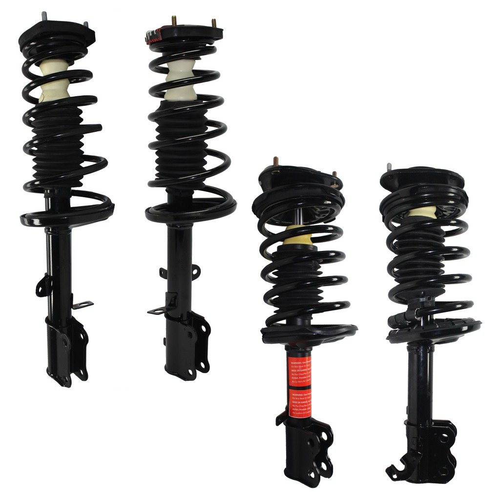 Brand New All Detroit Axle Front /& Rear Complete Strut /& Spring Assembly fits 1993 1994 1995 1996 1997 Geo Prizm - 1993-2002 Toyota Corolla 4