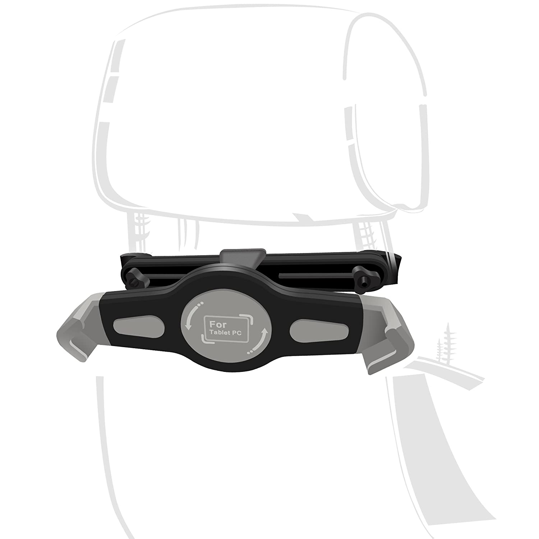 InnoMagi Google und andere 7-11 Zoll Tablets Samsung Galaxy Tab KFZ Tablet Halterung,Universale 360 Grad-Rotation Auto R/ücksitz Kopfst/ütze Halterung Einstellbare Halter F/ür Apple iPad 2//3//4r