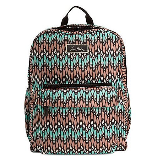Vera Bradley Womens Lighten Up Grande Backpack Sierra Stream Backpack