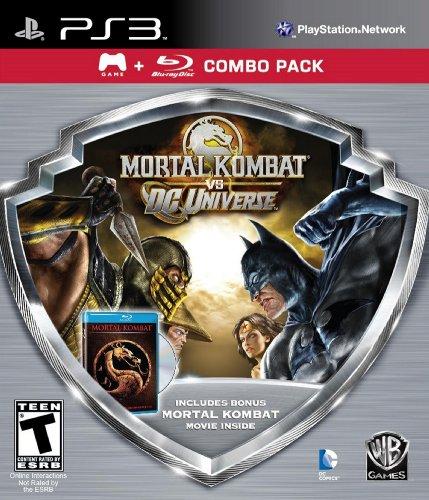 Mortal Kombat vs DC Universe - Silver Shield Combo Pack - Playstation 3 (Mortal Kombat Vs Dc Universe Combos Ps3)