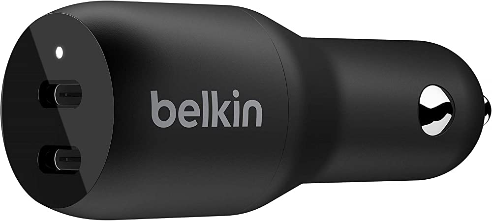 Belkin Boost Charge Usb C Pd Kfz Ladegerät Mit Zwei Elektronik