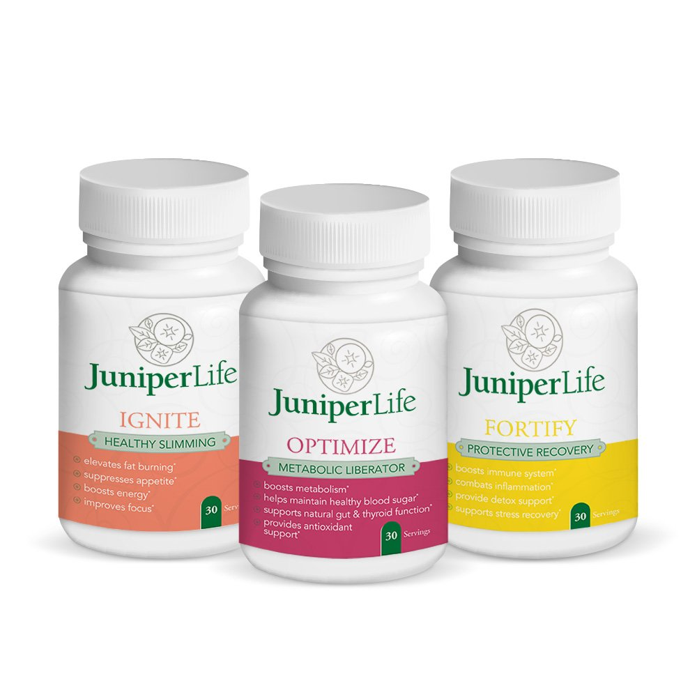 Transformation Program Refill Kit - Burn Belly Fat, Boost Immune System, Decrease Inflammation, Improve Gut Health, Appetite Suppressant, Boost Energy, Focus, and Motivation. by JuniperLIfe