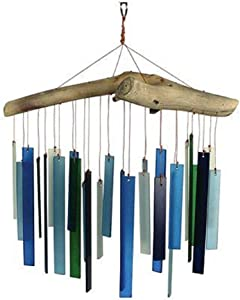 Gift Essentials Seaglass and Driftwood Wind Chime